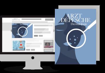 Aktuelles Titelbild der Fachzeitschrift Arzt-Depesche Dermatologie Onkologie Transplantation